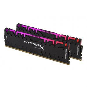 HyperX 16GB 3200MHz DDR4 CL16 DIMM (Kit of 2) XMP HyperX Predator RGB