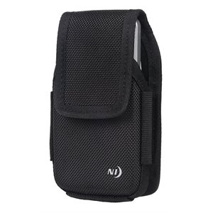 NITE IZE CLIP CASE HARDSHELL HORIZONTAL UNIVERSAL RUGGED HOLSTER - XL - BLACK