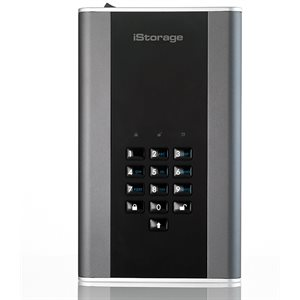 ISTORAGE diskAshur DT2 256-bit 8TB - Classified - Graphite