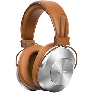 PIONEER SEMS7BTT HI-RES OVER EAR BLUETOOTH HEADPHONES - Tan