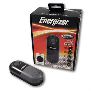 Energizer Smart Video Doorbell *Black* ENG ONLY