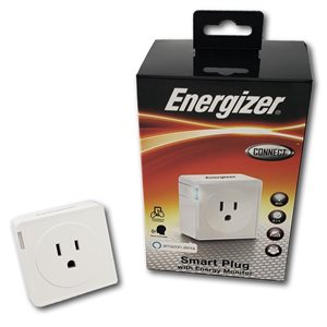 Energizer Smart Plug w/ Energy Monitor *White* ENG ONLY
