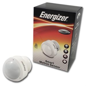 Energizer WiFi Connected Smart Motion Sensor w/ Plug *White*ENG ONLY