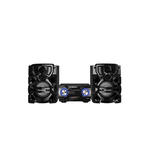 Panasonic - CD/ AM FM / 2x USB / Bluetooth Stereo System with Ultra Powerful Bass