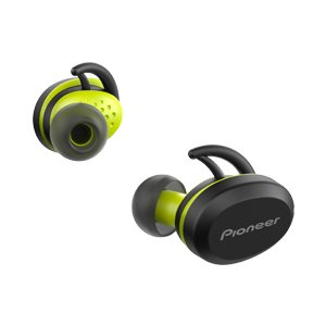 PIONEER E8 IRONMAN  SPORT TRUE WIRELESS with IPX5 Earphones  BLACK/YELLOW