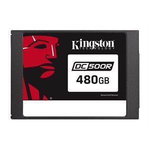 Disque Kingston Data Center DC500R Enterprise SSD 480GO (Read-Centric) 2.5po SATA Rev. 3.0 (6Gb/s)