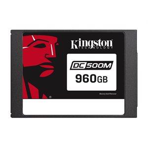 Disque Kingston Data Center DC500M Enterprise SSD 960GO (Usage Mixte) 2.5po SATA Rev. 3.0 (6Gb/s)