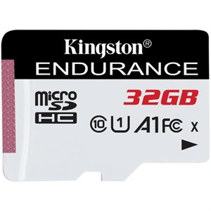 Kingston 32GB microSDHC Endurance 95R/30W C10 A1 UHS-I Canada Retail