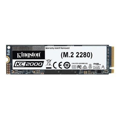 Kingston SSD 2TO KC2000 M.2 2280 NVMe PCIe gen3.0 x4
