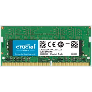 CRUCIAL 16GB DDR4 2666MT/s (PC4-21300) CL19 DR x8 Unbuffered SODIMM 260pin for Mac