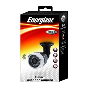 Energizer WIFI 1080P Outdoor HD Camera Black *ENG ONLY