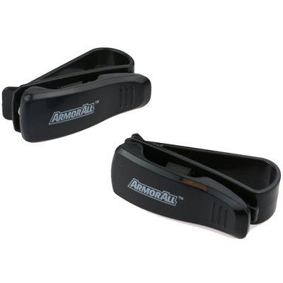 ARMORALL 2 Pack Sunglass Visor Clip