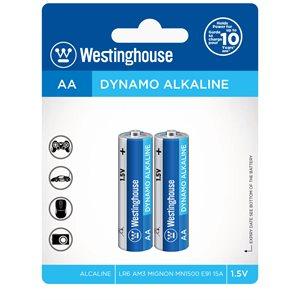 Westinghouse AA Dynamo Alkaline (2pcs blister)