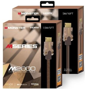 MONSTER  MSERIES M2 HDMI 3M 25GBPS