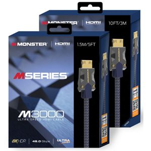 MONSTER  MSERIES M3 HDMI 1.5M 48 GBPS