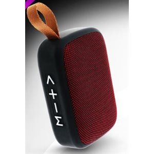 XTREME REPLAY Bluetooth Square Speaker - Red