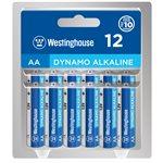 Westinghouse AA Dynamo Alkaline (12pcs in clamshell )