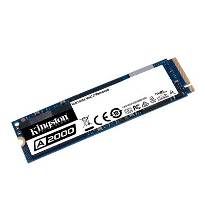 Disque SSD Kingston 250GO M.2 A2000 PCIe NVMe 2280