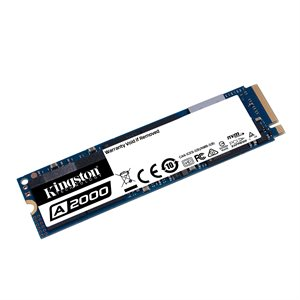 Disque SSD Kingston 500GO M.2 A2000 PCIe NVMe 2280