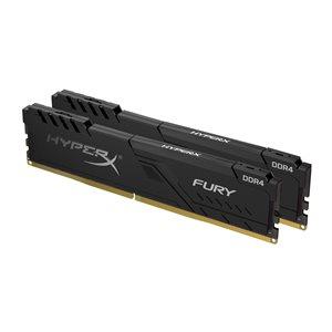 Kingston 8GB 3200MHz DDR4 CL16 DIMM (Kit of 2) HyperX FURY Black