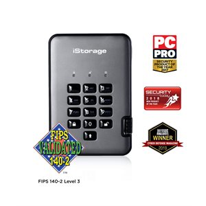 iStorage diskAshur Pro2 256-bit 2TB FIPS Certified