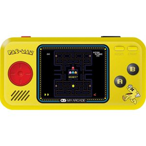 DREAMGEAR PAC-MAN POCKET PLAYER -Yellow & Black