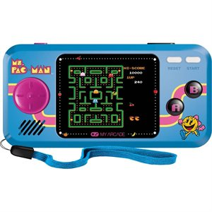 DREAMGEAR MS.PAC-MAN POCKET PLAYER-Blue