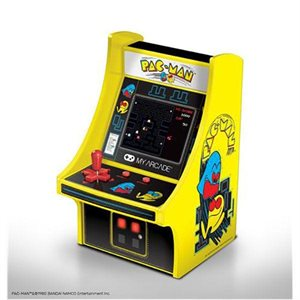 "DREAMGEAR 6.75"" COLLECTIBLE RETRO PAC-MAN MICRO PLAYER"