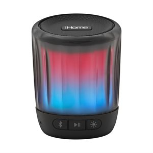 iHome iBT810 PLAYGLOW MINI Rechargeable Color Changing Bluetooth Speaker