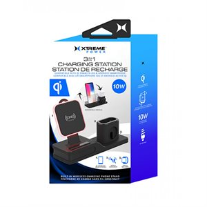 Xtreme 3in1 10W Wireless Charging Sta