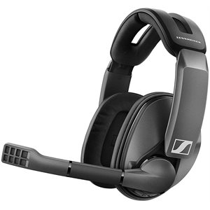 Sennheiser GSP 370 Wireless Gaming Headset with up to 100 hours of battery life,