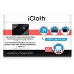 Lingettes nettoyantes iCloth iCA70 à base d'alcool isopropylique 70% - Boite de 50 lingettes