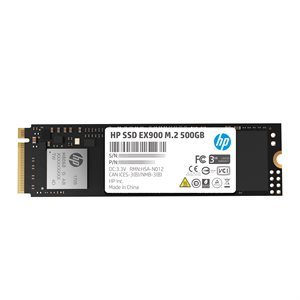 HP SSD EX900 M.2 500GB SR:2100MB/s SW:1500MB/s War-3 Years Internal NVMe PCIe M.2 2280