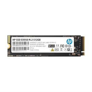 HP SSD EX950 M.2 512GB SR:3500MB/s SW:2250MB/s War-5 Years Internal NVMe PCIe M.2 2 END: 05 Dec 2020