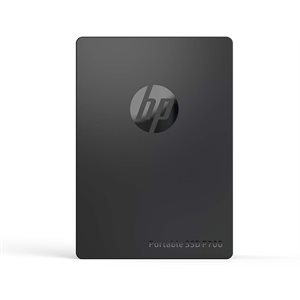 HP Portable SSD P700 1TB Black SR:1000MB/s SW:1000MB/s War-3 Years External