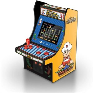 "DREAMGEAR 6.75"" COLLECTIBLE RETRO BURGERTIME MICRO PLAYER"