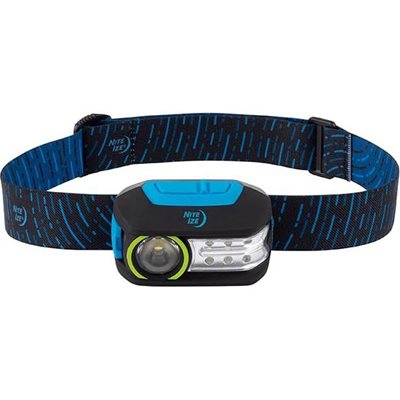NiteIze Radiant 300 Rechargeable Headlamp - Blue