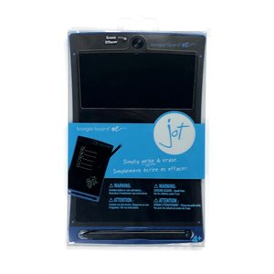 Boogie Board Jot 8.5 LCD eWriter, Blue  - Clear packaging