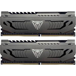 Patriot V4S 32GB DDR4 (2x16GB) 3200MHz CL16 Viper 4 Steel HS Dual Kit CL16