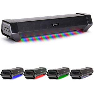 ACCESSORY POWER ENHANCE SM2 Attack Gaming Speaker Soundbar PC LED Speaker for Desktop -BLK