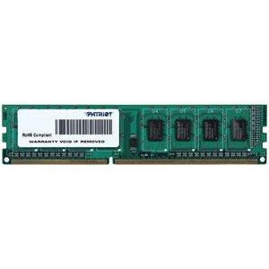 Patriot SL 4GB 1600MHz (PC3-12800)  DDR3 UDIMM CL11 1.5V Dual Rank