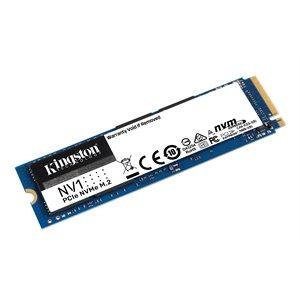 Disque SSD KINGSTON 1000G (1TB) NV1 M.2 2280 NVMe SR:2100MB/s SW:1700MB/s - Gar. 3 ans