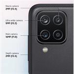 Samsung Galaxy A12 LTE 6.5-inch Infinity-V Unlocked Cell Phone 32 GB Black