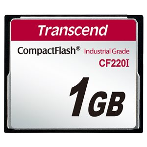 TRANSCEND 1GB CF CARD (220X)
