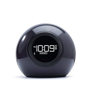 IHOME PHAZE ORB + BT COLOR CHANGING DUAL ALARM CLOCK FM RADIO W/USB CHARGING &SPEAKERPHON-English