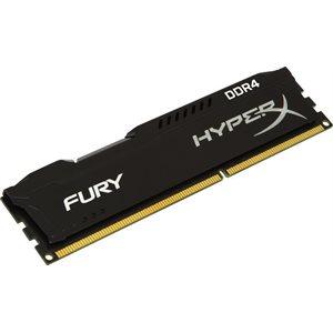 KINGSTON 8GB 2400MHZ DDR4 NON-ECC CL15 DIMM HYPERX FURY BLACK