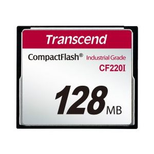TRANSCEND 128MB CF CARD (220X)