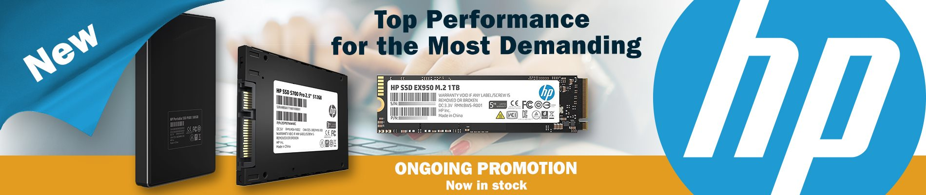 New HP SSDs