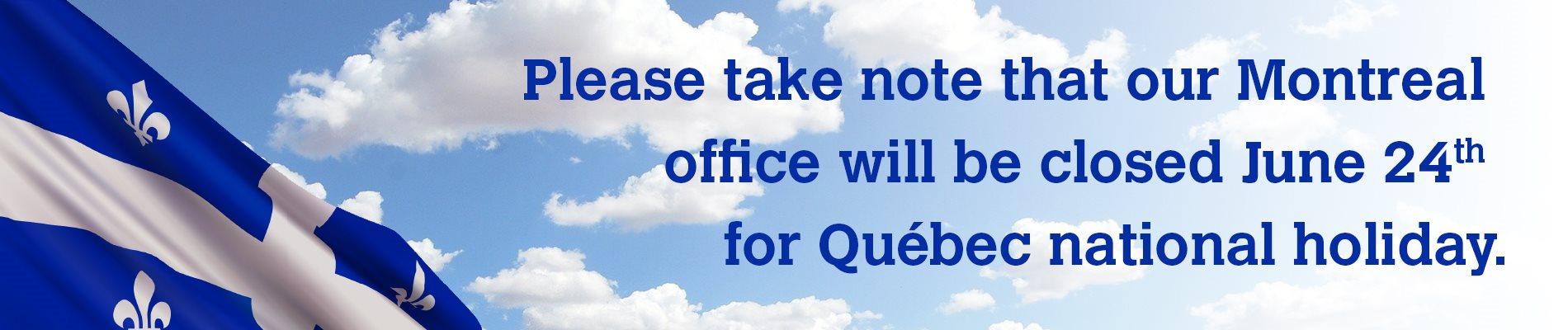 Quebec National Holiday